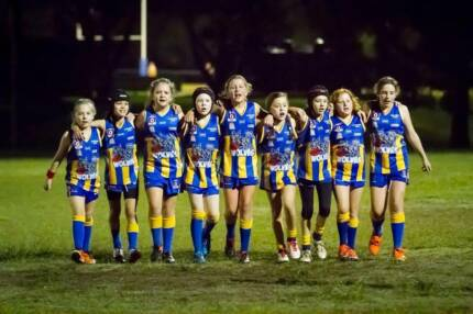 Girls Wanted Play AFL at the Everton Wolves