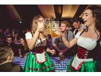 Bar Staff and Management for Oktoberfest Pop Up Events in Leeds