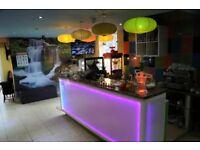 Shisha/Restaurant Business For Sale - Coffee Shop & Takeaway - Rusholme Main Road - Wilmslow Road