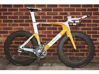 Time Trial / Triathlon Bike - Full Carbon Fibre
