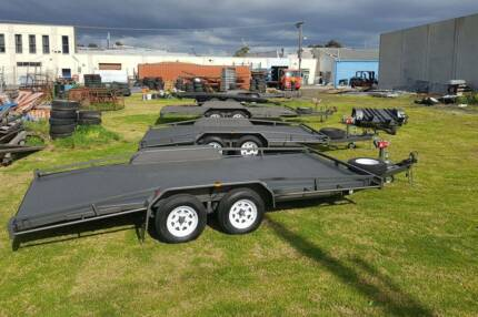 For Hire - Tandem Car Carrier Trailer Noble Park Greater Dandenong Preview