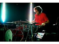 Versatile drummer available for recording - touring - teaching