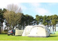 Ultimate Coleman Mackenzie X4 4 Man Tent Camping Bundle