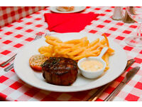 Sous Chef required for city French Steak restaurant