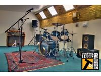 Festival rehearsal space/music rehearsal and recording studio