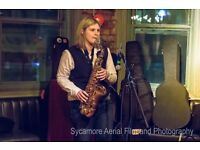 Alto Saxophonist Available to Book for Events
