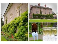 Wedding and Events Planner required for Woodborough Hall - immediate start