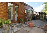 For Sale near Worcester M5 - wooden lodge chalet park home on static caravan site