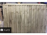 🆕 vertical board fence panels