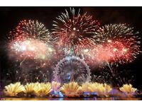 NYE London Fireworks Blue area Tickets 2017/2018