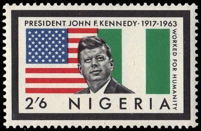 NIGERIA 160 (SG148) - John F. Kennedy Memorial Issue (pa86395)
