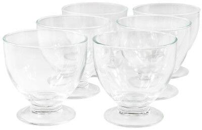12-Set Eisbecher Dessertschalen Eisschalen Eisschale Eisgläser Eis Glas 425 ml
