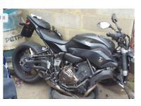 Parts Yamaha MT 07 2017 ABS 4000 miles