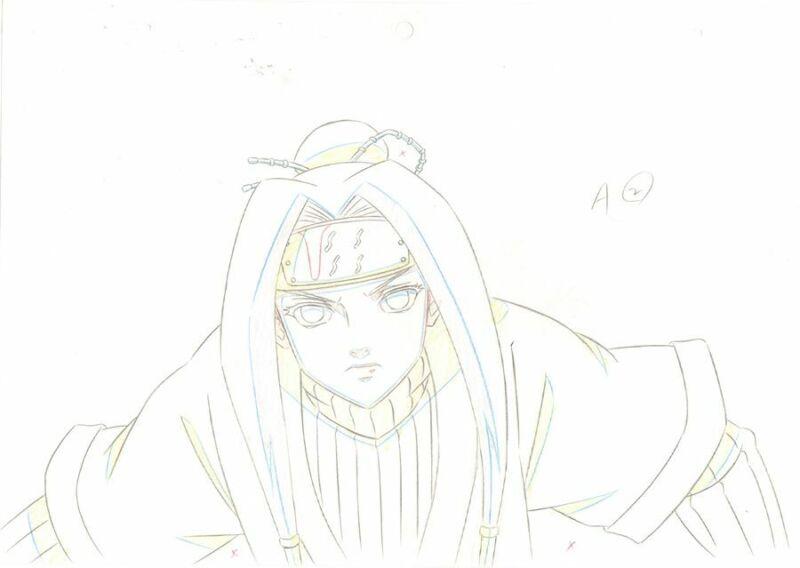 Anime Genga not Cel Naruto #261