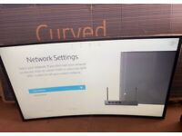 "Samsung 40"" Curved Beyond 4K UHD Smart TV"