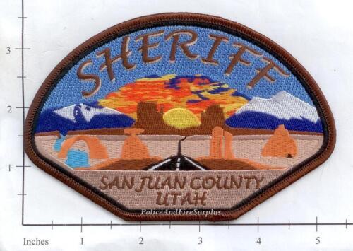 Utah - San Juan County UT Police Dept Patch