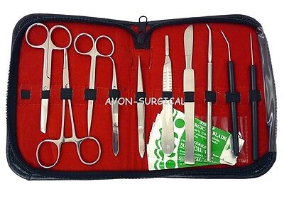 New 31 Pcs Dissecting Kit Dissection Kit Anatomy Kit For Medical Students