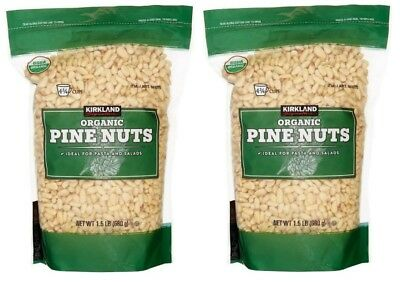 Kirkland Signature™ USDA Organic Pine Nuts 24 oz 2-pack Total 48 oz (3 LB)