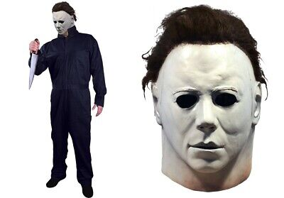 Halloween 1978 Michael Myers Coveralls + Mask TOT's Officially Licensed Pre-Sale](Halloween Michael Myers Mask 1978)