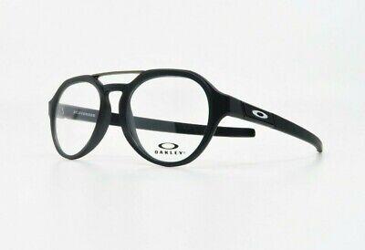 Oakley Men's Round Scavenger Satin Black Glasses OX 8151-01 51mm (Oakley Reading Glasses Men)