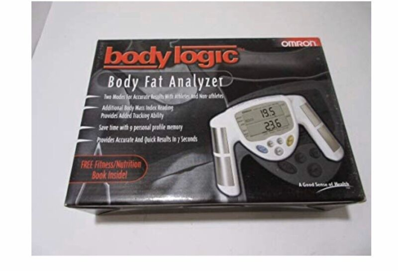 Complete Medical HBF-306BL Body Logic Fat Analyzer Fitness Workout Health White