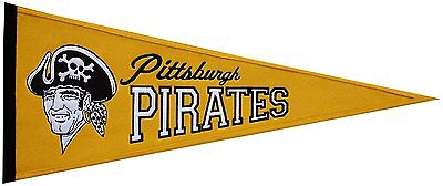 MLB Baseball PITTSBURGH PIRATES Banner großer Wimpel Pennant heritage Wolle