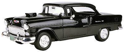 New-Motormax 1955 Chevy Bel Air Coupe w/Hood Scoop 1:18 -79001