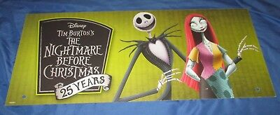 SPIRIT HALLOWEEN Store Exclusive Display Sign NIGHTMARE BEFORE CHRISTMAS Jack](Halloween Store Displays)