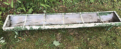 Vintage Galvanised painted Trough Feeder/Planter - Collection From RG9 Area