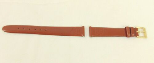 Disney Winnie the Pooh Replacement Leather Watch Band Brown 14 mm Embossed