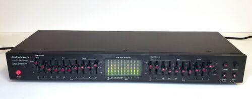 AudioSource EQ Eight/Series II 10-Band Graphic Equalizer w/Spectrum Analyzer