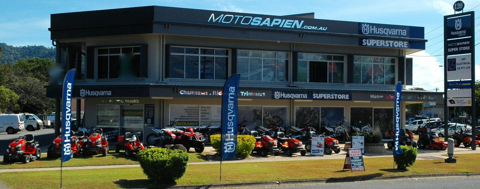 Motosapien Mowers & Motorcycles