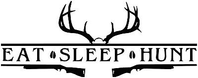 DEER ANTLERS  DECAL STICKER FOR CARS AND TRUCKS (Deer Antlers For Cars)