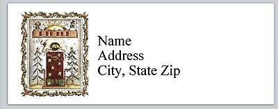 Personalized Address Labels Primitive Country Winter Buy 3 Get 1 Free Bx 954