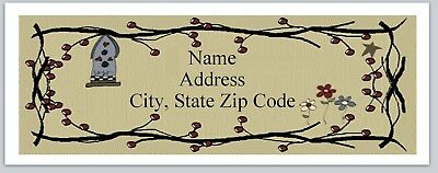 Personalized Address Labels Primitive Country Pip Berries Buy 3 Get1 Free P 24