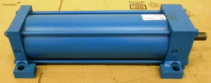 "REXROTH PNEUMATIC CYLINDER, PC R480061321, MOD C-MS2-PP-C, 5"" BORE, 14"" STROKE"