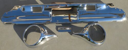 X Thunderbird Rear Back New Triple Chrome Plated Bumper 61-63 1961-1963 Ford Oem