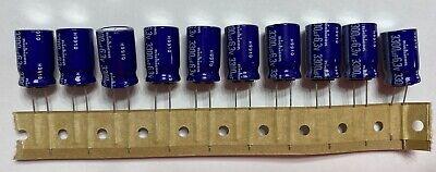 Qty 10 New Nichicon 3300uf 6.3v 3300 Mfd 6.3 V Radial Electrolytic Capacitor Lot