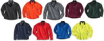 White Bear Performance Windshirt Pullover Long Sleeve 1/4 Zip Wind Shirt -