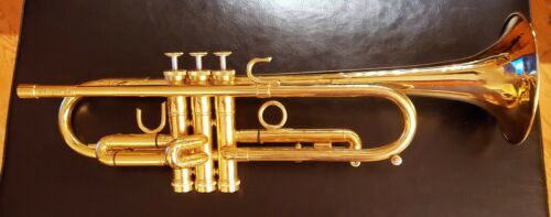 Eclipse Bb Trumpet GOLD PLATED - Rear tuning - Bauerfiend valves
