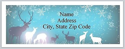 Personalized Address Labels Country Deer Buy 3 Get 1 Free Bx 660