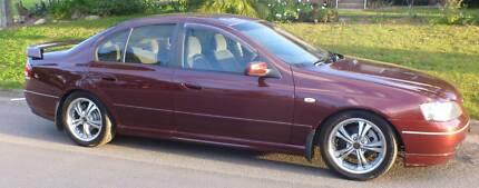 2003 Ford Falcon Sedan Hinton Port Stephens Area Preview