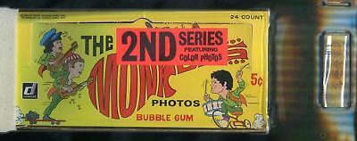 1967 Donruss The Monkees 2nd Series 5-Cent Display Box GAI 8.5 (NM-MT+)