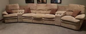 5 Seat Home Theatre Recliner Sofa