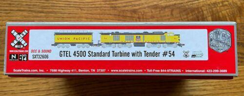 Scale Trains UNION PACIFIC GTEL 4500 Standard Turbine w/Tender #54 DCC Sound NIB