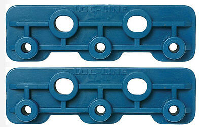 Pack Of 2 14 Modular Manifold Brackets Loc-line Usa Original System 21195