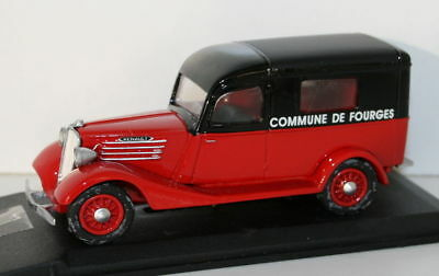 PARADE 1/43 SCALE RESIN 4354 1937 RENAULT 500KG POMPIERS