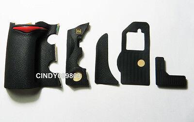 New Repair Part for Nikon D700 5 Pieces Front Left Bottom Grip Rubber Unit +Tape