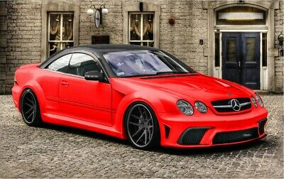 MERCEDES CL W215 CL500 CL55 AMG CL63 AMG BLACK SERIES BODY KIT 1998-2006