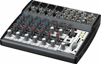 NEW Behringer XENYX 1202 12-Input Mixer Board w/ British EQ, & Power Supply . Buy it now for 119.99
